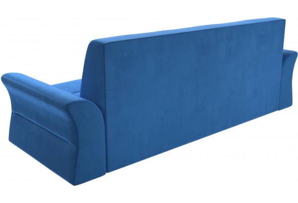 Прямой диван Клайд Голубой (Велюр) - фото 5