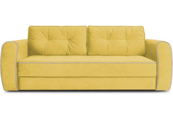 Диван «Хьюго» (Neo 08 (рогожка) желтый кант Neo 02 (рогожка) бежевый) - фото 2