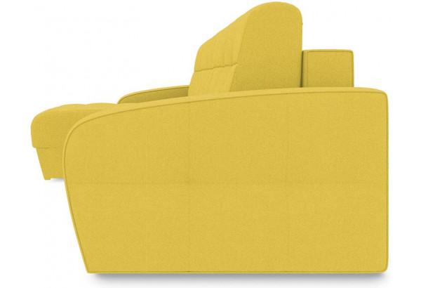 Диван угловой левый «Аспен Т1» (Neo 08 (рогожка) желтый) - фото 3