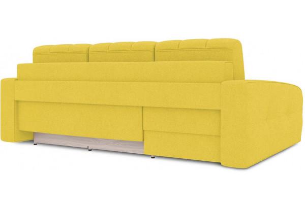 Диван угловой левый «Аспен Т2» (Neo 08 (рогожка) желтый) - фото 4
