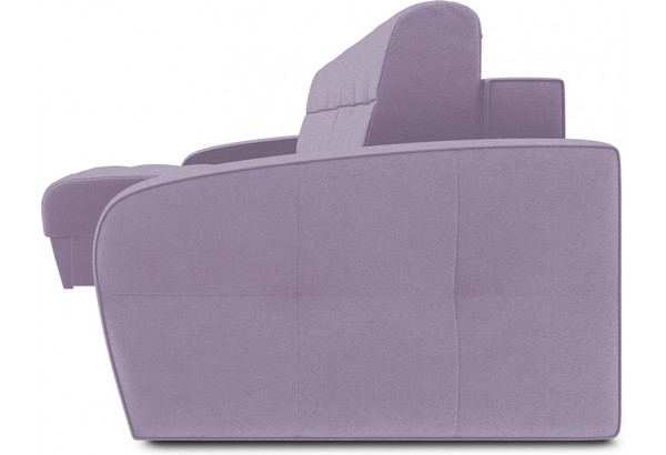 Диван угловой левый «Аспен Slim Т1» (Neo 09 (рогожка) фиолетовый) - фото 3