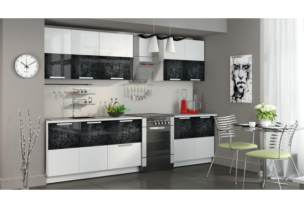 Кухонный гарнитур длиной - 300 см Фэнтези (Лайнс) - фото 2