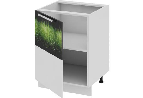 Шкаф напольный (левый) ФЭНТЕЗИ (Грасс) 600x582x822 - фото 1