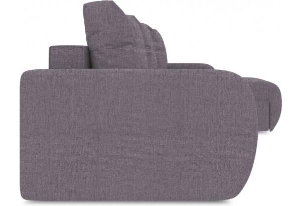 Диван угловой правый «Томас Slim Т1» (Levis 68 (рогожка) Темно - фиолетовый) - фото 3