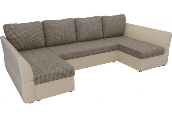 П-образный диван Гесен Корфу 03/коричневый (Корфу/экокожа) - фото 4