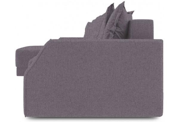 Диван угловой левый «Люксор Slim Т1» (Levis 68 (рогожка) Темно - фиолетовый) - фото 3