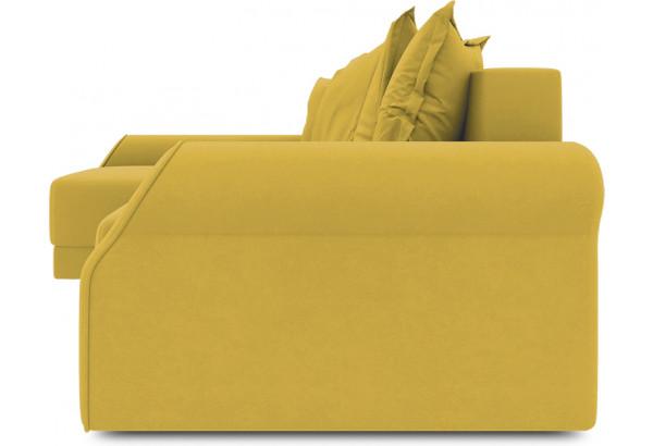 Диван угловой левый «Люксор Т2» (Poseidon Curcuma (иск.замша) желтый) - фото 3