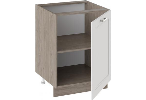 Шкаф напольный (ОДРИ (Белый софт)) - фото 2