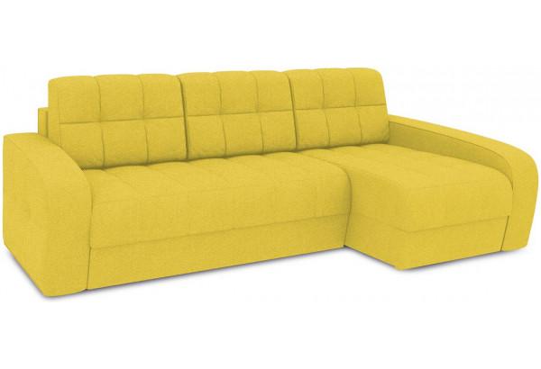 Диван угловой правый «Аспен Т2» (Neo 08 (рогожка) желтый) - фото 1