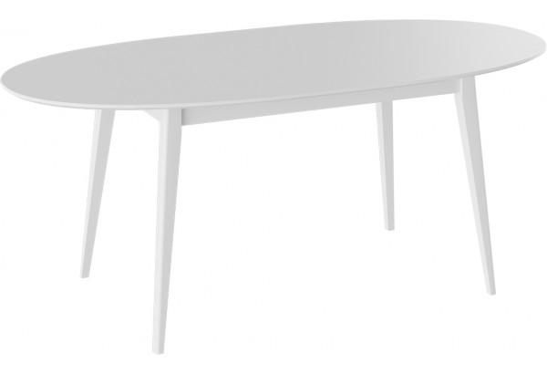 Стол «Феникс» МДФ Тип 1 исп. 6 (Белый/Белый) - фото 2