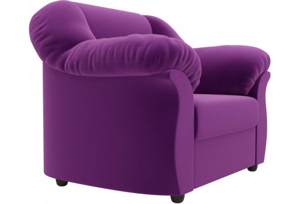 Кресло Карнелла Фиолетовый (Микровельвет) - фото 3
