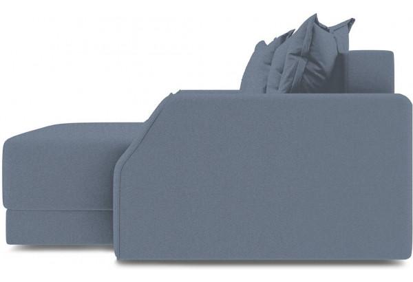 Диван угловой правый «Люксор Slim Т1» (Neo 07 (рогожка) светло-серый) - фото 5