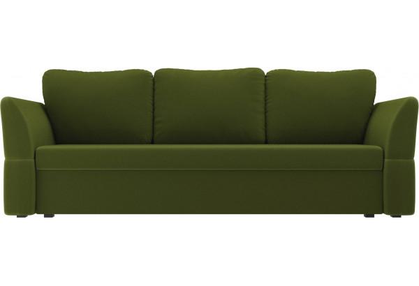 Диван прямой Гесен Зеленый (Микровельвет) - фото 2