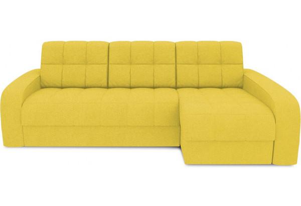 Диван угловой правый «Аспен Т2» (Neo 08 (рогожка) желтый) - фото 2