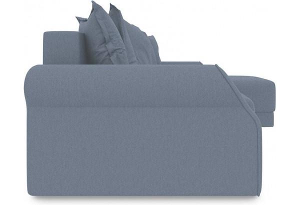 Диван угловой правый «Люксор Т1» (Neo 07 (рогожка) светло-серый) - фото 3