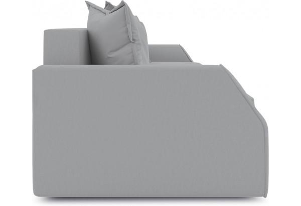 Диван «Люксор Slim» (Poseidon Grey (иск.замша) серый) - фото 4