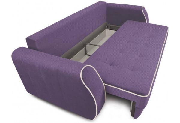 Диван «Хьюго» (Favo 67 (велюр) Фиолетовый кант Beauty 02 (велюр), капучино) - фото 5