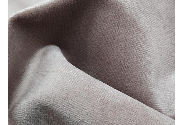Прямой диван Эллиот бежевый/коричневый (Велюр) - фото 11