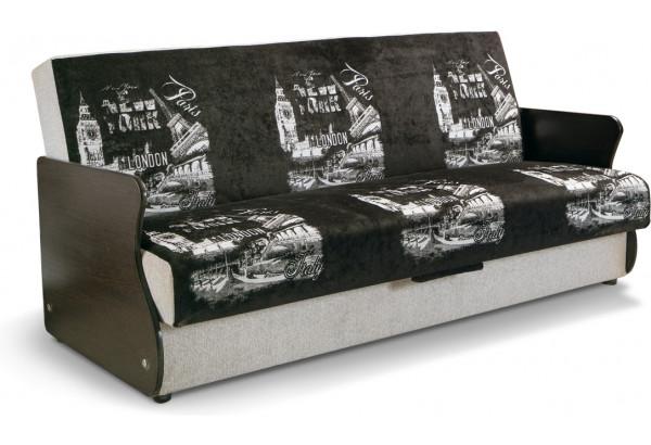 Диван Контур с ламинированными подлокотниками - фото 1