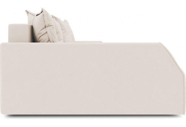 Диван угловой левый «Люксор Slim Т2» (Kolibri Cream (велюр) кремовый) - фото 5