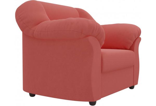 Кресло Карнелла Коралловый (Микровельвет) - фото 4