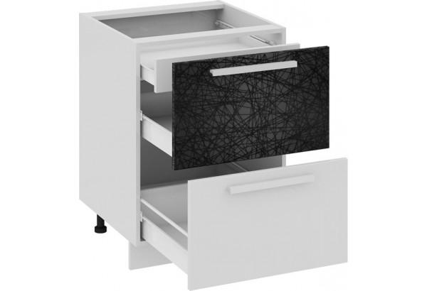 Шкаф напольный с 2-мя ящиками и 1-м внутренним Фэнтези (Лайнс) - фото 1
