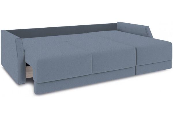 Диван угловой правый «Люксор Slim Т1» (Neo 07 (рогожка) светло-серый) - фото 7