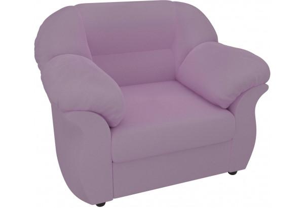 Кресло Карнелла Сиреневый (Микровельвет) - фото 4