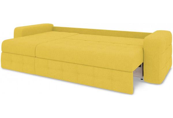Диван угловой левый «Райс Т1» (Neo 08 (рогожка) желтый) - фото 7