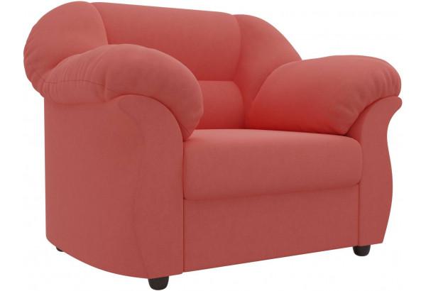 Кресло Карнелла Коралловый (Микровельвет) - фото 1