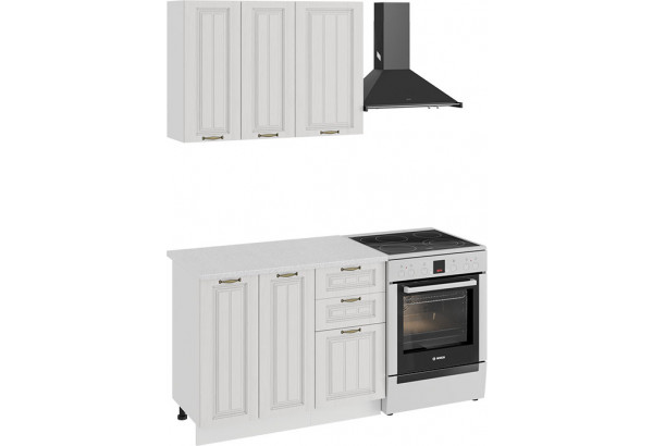 Кухонный гарнитур «Лина» стандартный набор (Белый/Белый) - фото 1