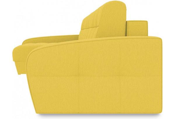 Диван угловой левый «Аспен Slim Т2» (Neo 08 (рогожка) желтый) - фото 3