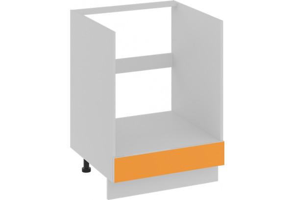 Шкаф напольный под бытовую технику с 1-м ящиком (БЬЮТИ (Оранж)) - фото 1