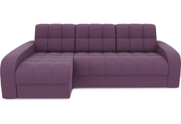 Диван угловой левый «Аспен Т2» (Kolibri Violet (велюр) фиолетовый) - фото 2