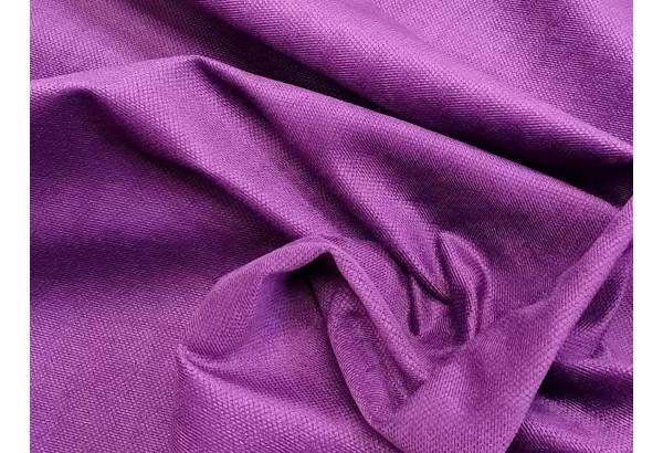 Кухонный прямой диван Кармен черный/фиолетовый (Микровельвет) - фото 5