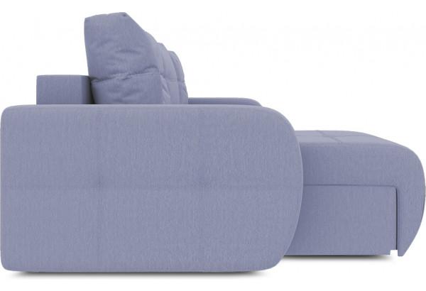 Диван угловой левый «Томас Т1» (Poseidon Blue Graphite (иск.замша) серо-фиолетовый) - фото 5