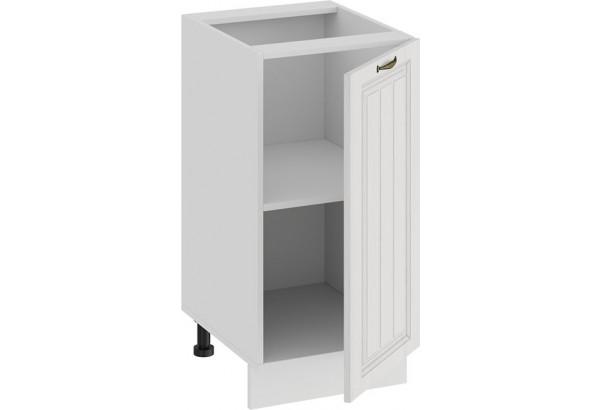 Шкаф напольный с одной дверью «Лина» (Белый/Белый) - фото 2