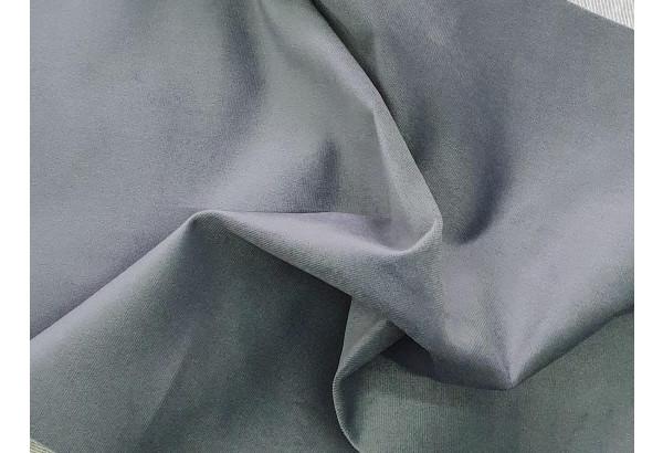 Диван прямой Карнелла Серый/черный (Велюр/Экокожа) - фото 7