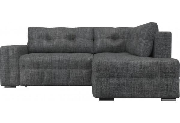 Угловой диван Леос Серый (Рогожка) - фото 2