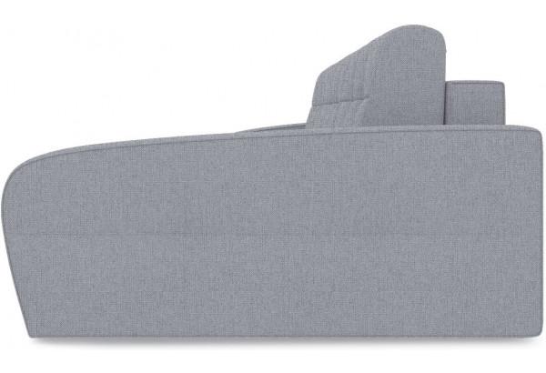 Диван угловой правый «Аспен Slim Т2» (Levis 85 (рогожка) Темно-серый) - фото 4
