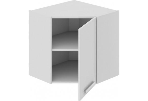 Шкаф навесной угловой с углом 45° Фэнтези (Белый универс) - фото 1
