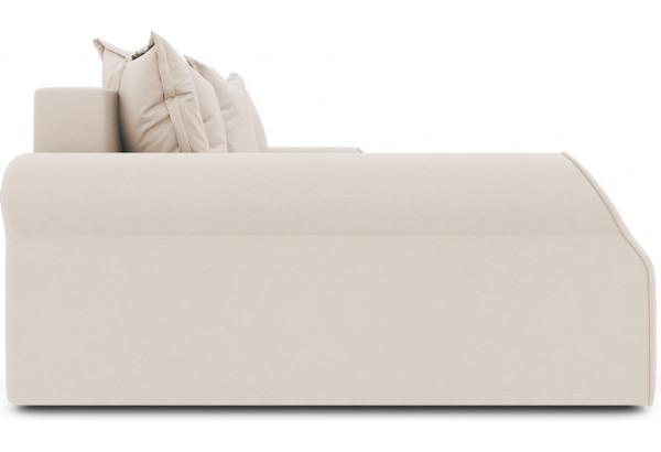 Диван угловой левый «Люксор Т2» (Kolibri Cream (велюр) кремовый) - фото 5