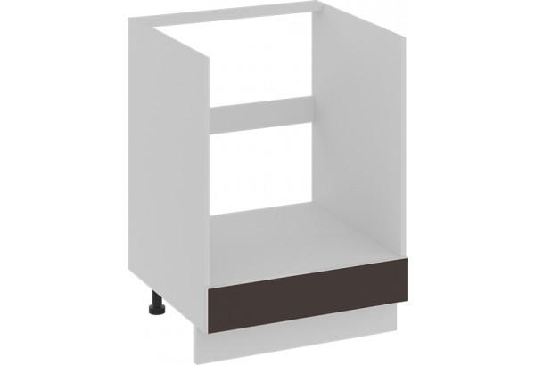 Шкаф напольный под бытовую технику с 1-м ящиком БЬЮТИ (Грэй) - фото 1
