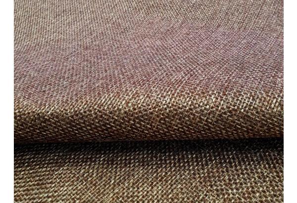 Диван прямой Модена с двумя пуфами коричневый/Серый (Рогожка) - фото 7