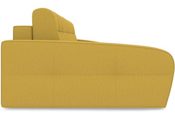 Диван угловой левый «Аспен Slim Т2» (Poseidon Curcuma (иск.замша) желтый) - фото 4