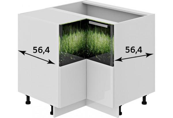 Шкаф напольный угловой с углом 90° ФЭНТЕЗИ (Грасс) - фото 2