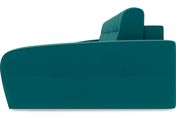 Диван угловой правый «Аспен Slim Т2» Beauty 06 (велюр) изумрудный - фото 3