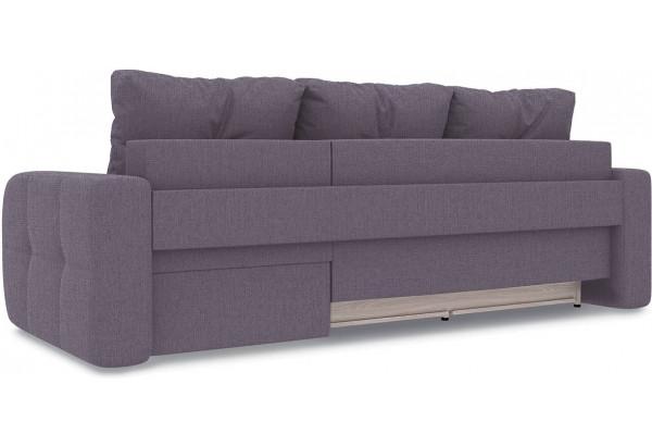 Диван угловой правый «Томас Т1» (Levis 68 (рогожка) Темно - фиолетовый) - фото 4