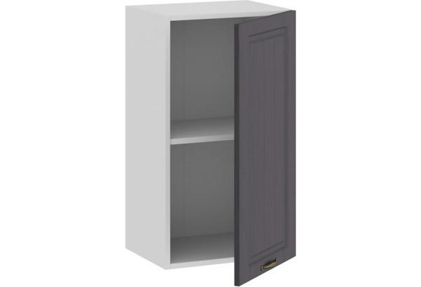 Шкаф навесной c одной дверью «Лина» (Белый/Графит) - фото 2