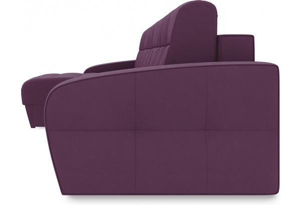 Диван угловой левый «Аспен Т1» (Kolibri Violet (велюр) фиолетовый) - фото 3
